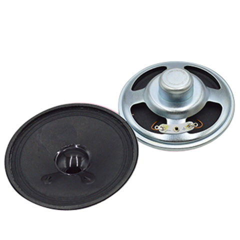 Hong Kong SAR 77mm ,0.5W Neodymium Speaker in 23.5 mm height and 8 Ohm impedance