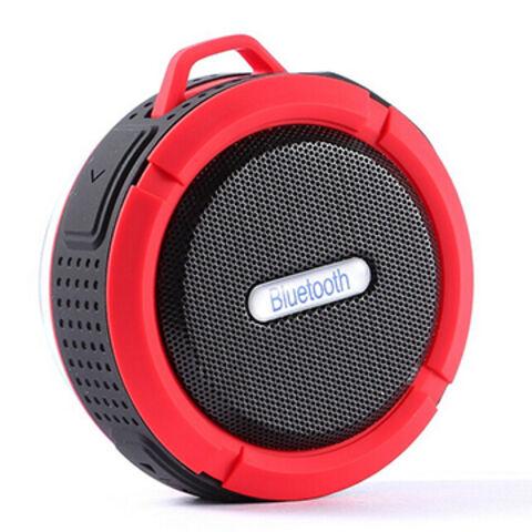 China Sport Bluetooth speaker, sucker, waterproof, outdoor climbing with hook