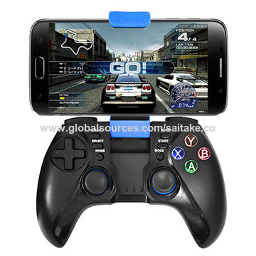 Bluetooth gamepad for Android devices and iOS system of smartphone and tablet PC, supports Win 10