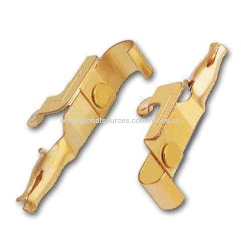 Stamped Metal Parts, Made of Bronze or Phosphor Bronze Material, OEM Orders Welcomed