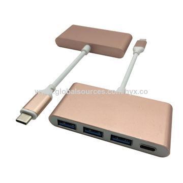 Gold USB Type C 3.1 to USB 3.1 AF/CF Hubs