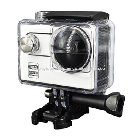 China 2.0 inch LCD screen waterproof 360 degree sport camera wifi action camera