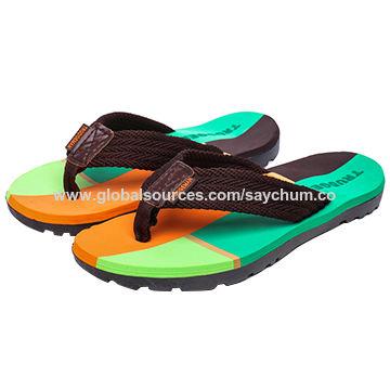 Size 36-45# Couple Women's Slippers Flip Flops Summer Beach Cork Shoes