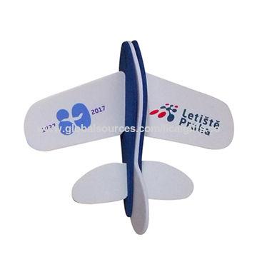 China 2017 eco-friendly EVA foam plane ,eva plane puzzle,eva foam aircraft