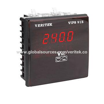 India Single phase voltmeter, VIPS 91E