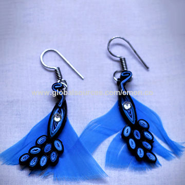 India Quilling paper jewellery, available in various colour combinations