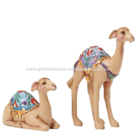 Nen Polyresin Nativity Camel Figurine for Promotional Gifts and Home Decoration