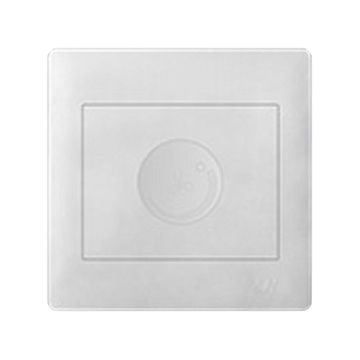 China Two gang white color dimmer switch