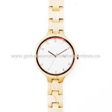 China New/fashionable wooden watch box, 100% natural watch wood, wooden wrist watch