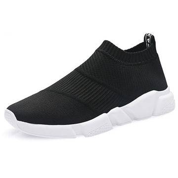 Men's sneakers, upper and PU out-sole, men size: 40-45#