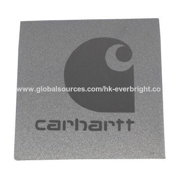 China PVC label with Reflective Logo