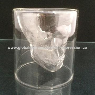 China Baron Samedi Glass