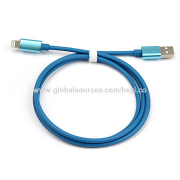 China USB to lightning cable 5V 2A charge and data sync MFi license