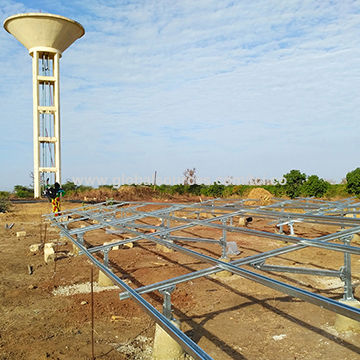 18kW Solar deep well pump irrigation system for agriculture in Senegal, West Africa
