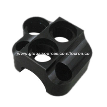 Metal CNC Machining Parts with Black Anodizing