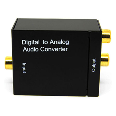 China Optic Coaxial RCA Toslink Signal Digital to Analog Audio Converter