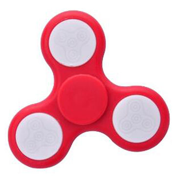 Fidget Spinner with LED Glowing Function/Made of ABS Plastic Housing/Available in Various Colors