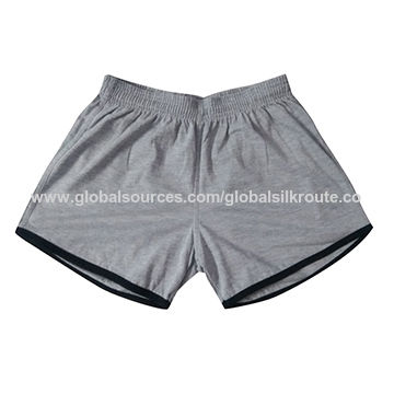 India Women's shorts, made of organic cotton fabric