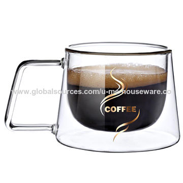 China Double Layer Coffee Mug