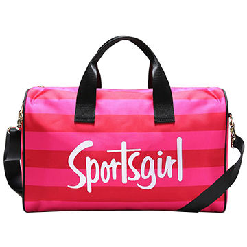 Girls' Sport Bag with Individual Shoe Compartment, Meets US/EU Testing Requirements
