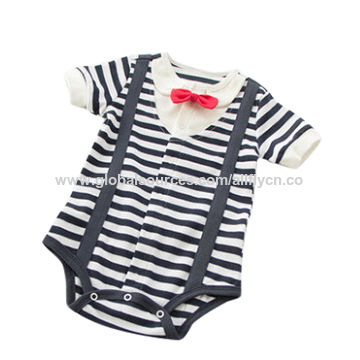 China Baby rompers with short sleeves
