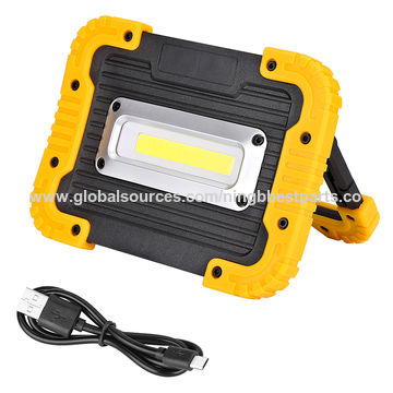 10w High Power Work Light Rechargeable Flood Light Spot Light