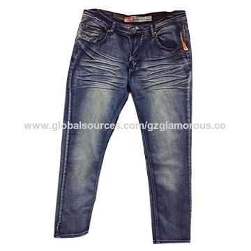 China Men's Fit Pants, All Styles and Sizes are Accordance with Customers' Need