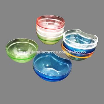 Taiwan Unbreakable Food Safety Grade Tritan Acrylic Plastic BPA-free Condiment Dish