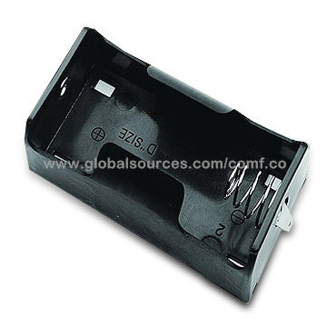 Taiwan Regular Battery Holder for One D/UM1 Cell, OEM Orders are Accepted