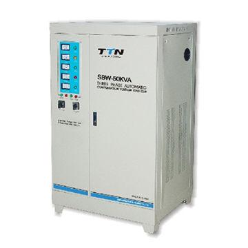 SBW 50KVA servo motor control model ac automatic voltage stabilizer