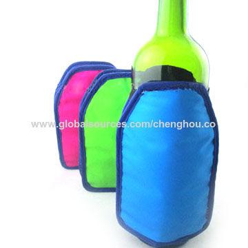Taiwan Bottle Cooling Sleeve / Wine Chiller / Beverage Cooler / Ice Pack / Bottle Cooling Wrap