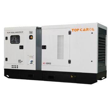 China 100kVA Soundproof Type Engine Power Diesel Generator Set