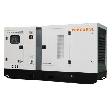 China 100kVA Soundproof Type Engine Power Diesel Generator Set
