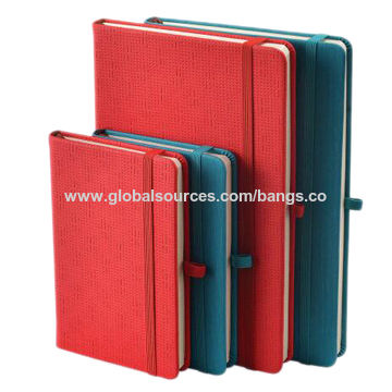 China Fancy colorful PU cover leather notebook A5/A6