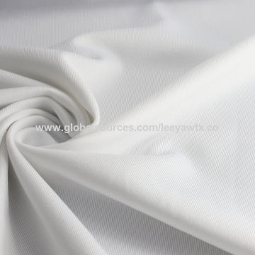 Taiwan Temperature/Humidity Regulation Fabric, 77% Hydrophilic Poly + 23% Spandex Jersey
