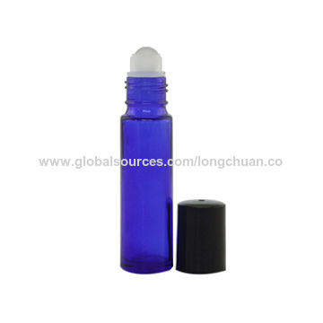 China Glass perfume roll-on bottle, 10mL