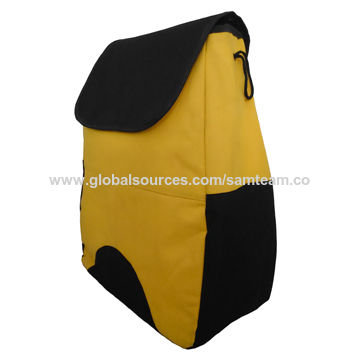 China Storage Cooler Bag with Double Shoulder Strap, Made of 600D Polyester, Drawstring Closure