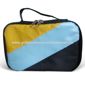 China Cooler Bag with 0.13mm PVC Lining, Made of 210T Polyester and 3mm EPM Foam