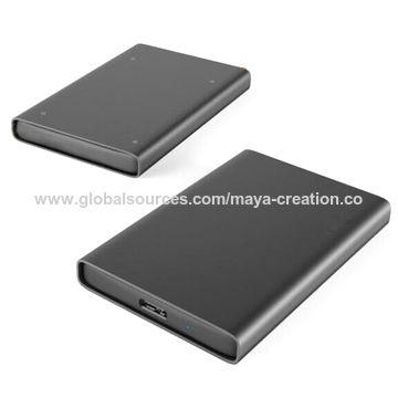 China New Design Aluminium Micro B to Type C HDD Enclosure