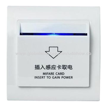 China Smart card energy saving switch from Shenzhen