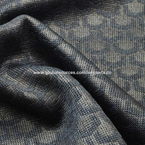 Wicking Embossed Flatback Rib Fabric in 100% Poly