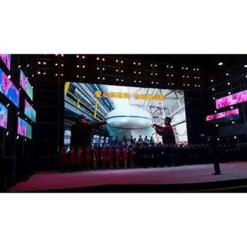 China 5.95 Die Cast Aluminum Rental Cabinet Video Screen LED Display
