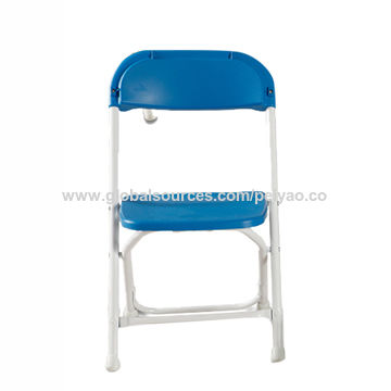 China Cheap Stackable Plastic Folding Chairs