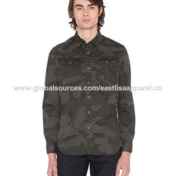 China Men's Casual Shirt, 100% Cotton