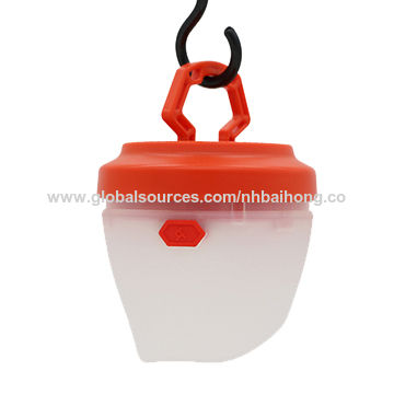 China 3W LED Camping Lantern, Easy Taking, White and Red Light