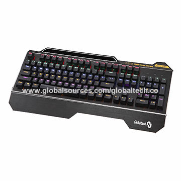 China Newly-designed backlit mechanical gaming keyboard with charging function