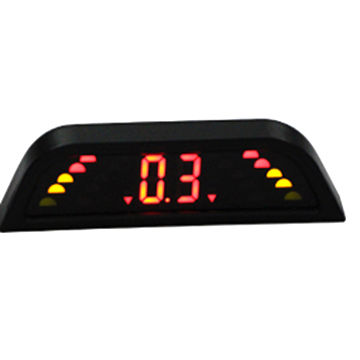China LED display parking sensor