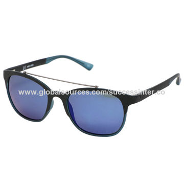 China Men's Sunglasses,TR 90,UV 400 Lens,CE,FDA,Available in Various Colors,Designs,OEM Welcomed
