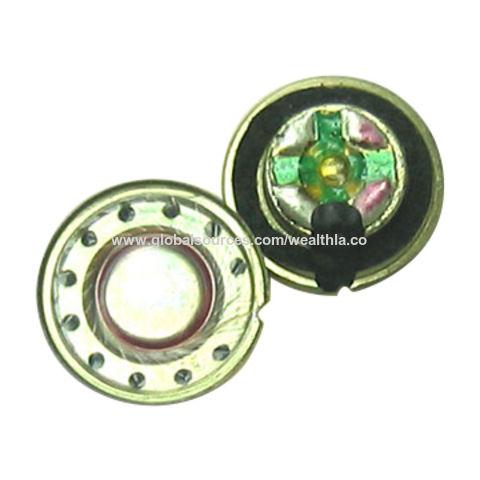 Hong Kong SAR 15mm Neodymium Mylar Speaker with32Ω Impedance