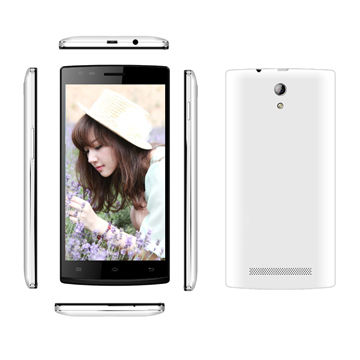 """China 5.5"""" Smartphone, Android 4.4, MTK6582 Quad-core, 4G LTE Smartphone"""